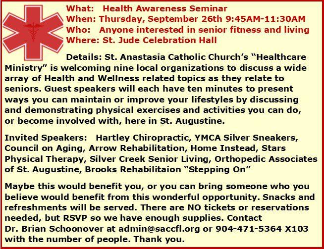 Health Awareness Seminar